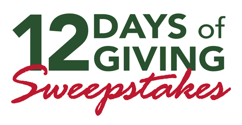 12 Days of Giving Sweepstakes logo