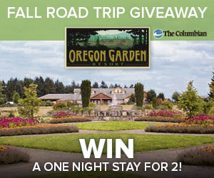 Oregon Garden Fall Foliage Giveaway