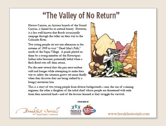 the valley of no return breakfast serials desktop