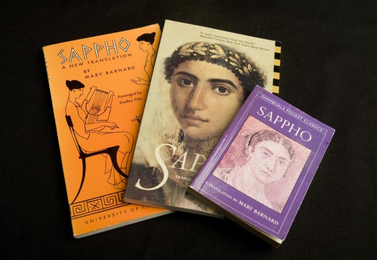 Steven Lane/The Columbian Mary Barnard is known for her translation of the works of the Greek poet Sappho.