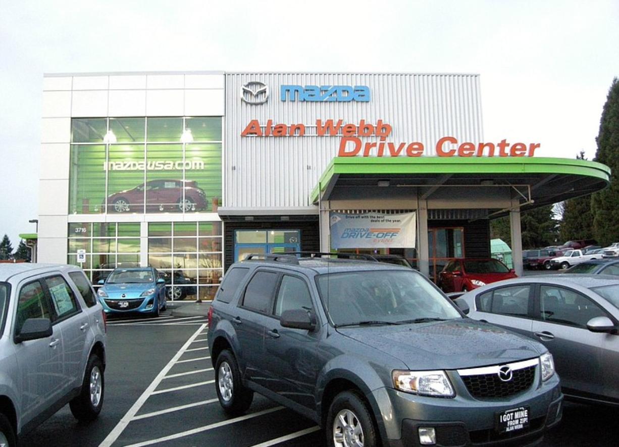 Alan Webb Mazda >> New Alan Webb Building Nabs Honors Columbian Com