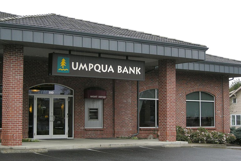 Umpqua Bank now operates the former Bank of Clark County.