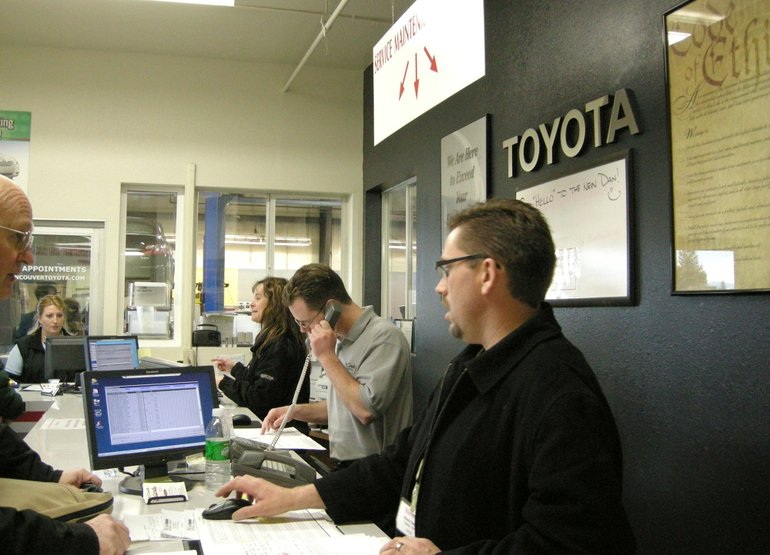 Toyota Service Ociates At Mccord S Vancouver Spent The Week Dealing With A Rush Of Wa