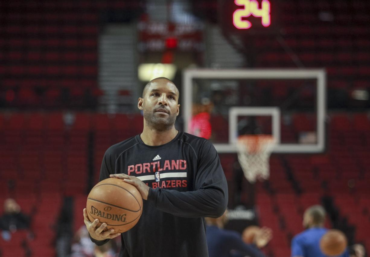 Portland Trail Blazers assistant coach David Vanterpool likes to say he has different tools in his toolbox, which helps him in his coaching duties.