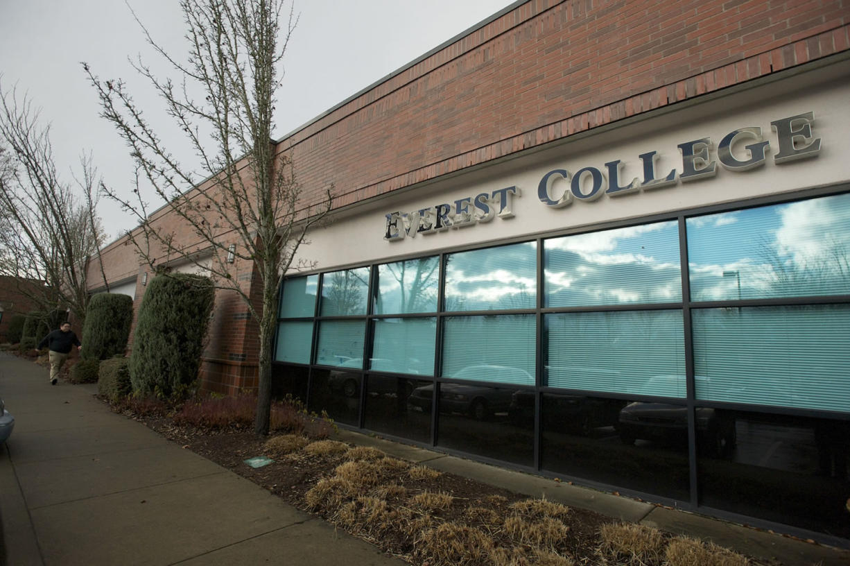 The Everest College campus in Vancouver.
