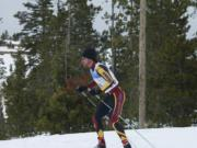 King's Way Christian School graduate Carter Coval took up Nordic skiing this season, and will compete in the United States Collegiate Ski and Snowboard Association nationals at Mount Bachelor near Bend, Ore.