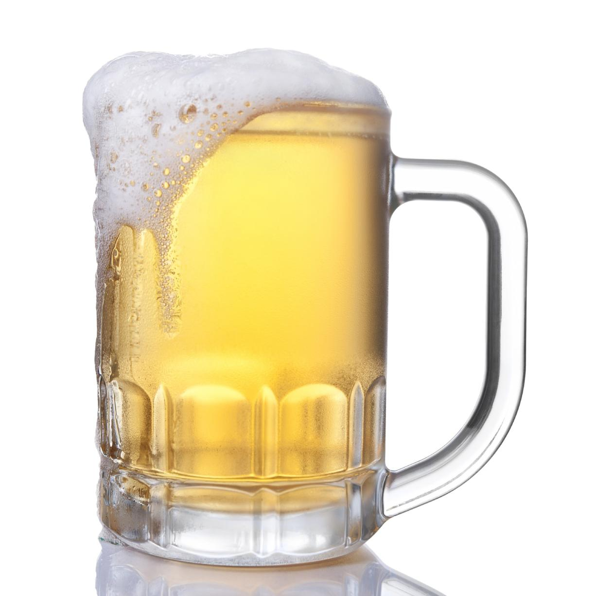 Drinking beer is a relatively inefficient way to get a buzz.