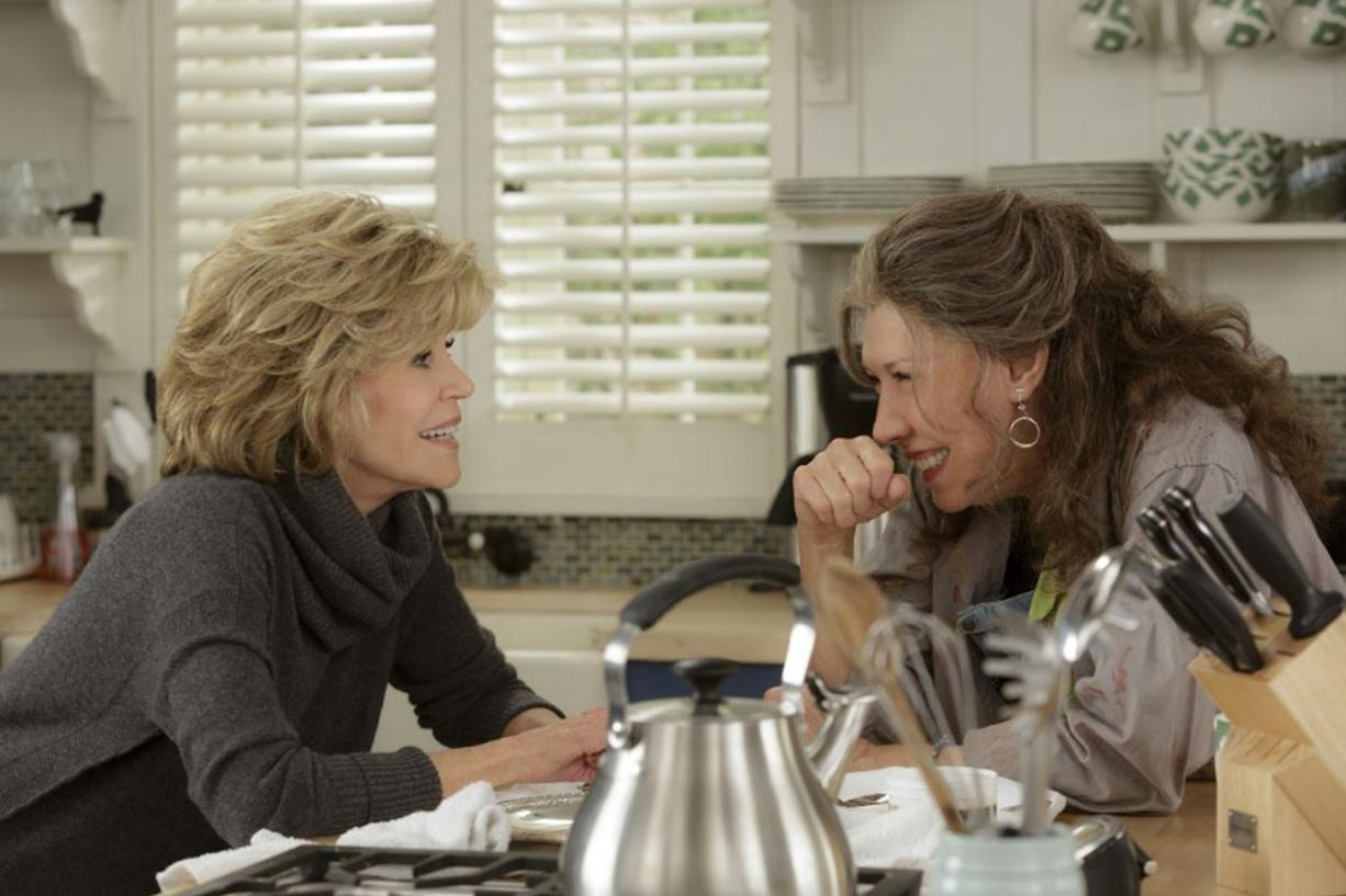 """Jane Fonda and Lily Tomlin in """"Grace and Frankie."""""""
