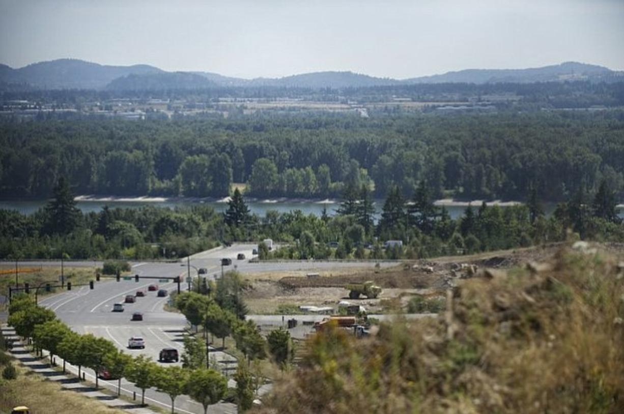 Clark County Commissioner David Madore is championing a plan to build a bridge from Southeast 192nd Avenue in Vancouver to Northeast Airport Way in Portland.