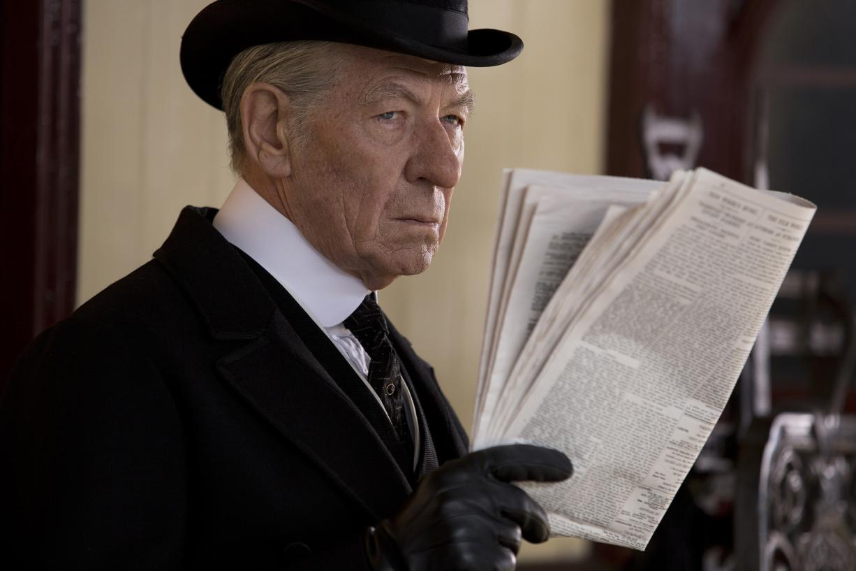 "Ian McKellen stars in ""Mr."