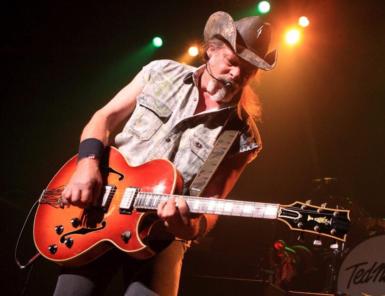 Associated Press files Ted Nugent didn't play a note at the Clark County Fair but collected a settlement worth $45,000 to resolve a dispute with a marketing firm that had booked him.