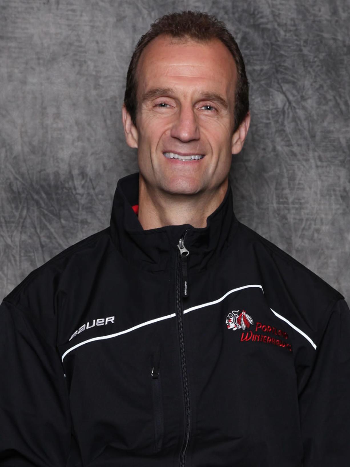 Jamie Kompon Winterhawks head coach