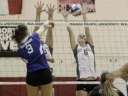 Haley Doerfler (6), Hawaii Pacific University volleyball.