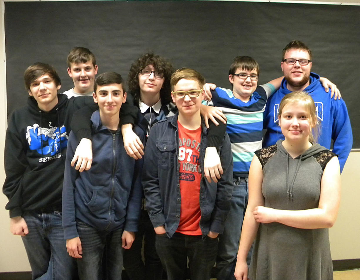 Adam Littman/The Columbian Members of the La Center High School chess team, which is in its first full season, won its division and will compete in the state championship tournament this weekend.
