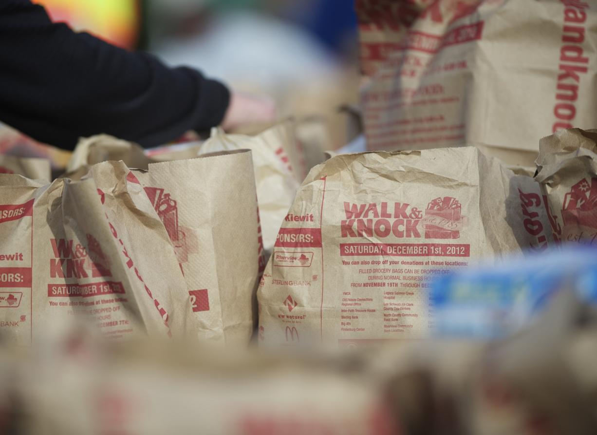 Walk & Knock food drive Saturday in Clark County - Columbian com
