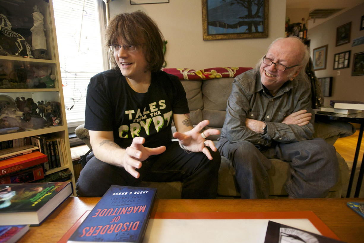 """Noted Vancouver sci-fi author William F. """"Bill"""" Nolan, continues his career at age 86."""
