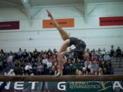 Kalliah McCartney, Sacramento State University gymnastics.