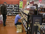Clark County's taxable retail sales grew by 13.8 percent in the first quarter of 2015, the largest one-year increase of any large county in the state, the Department of Revenue reported Tuesday.