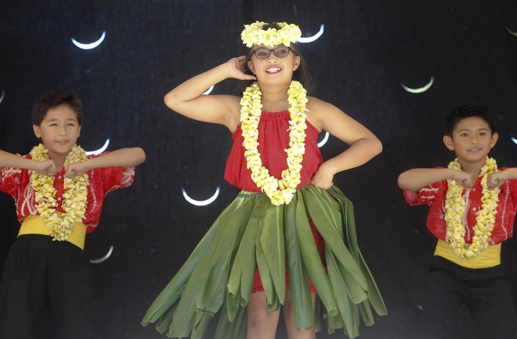 aa9338b0ccb6 Children perform traditional Hawaiian dances at the Hawaiian Festival in  Esther Short Park in 2014.