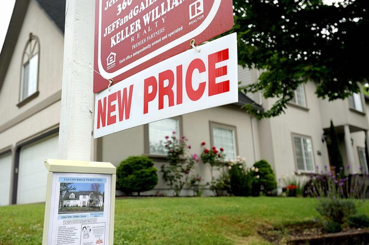 Clark County home sales stabilized in January compared to last year, but prices were sharply lower.