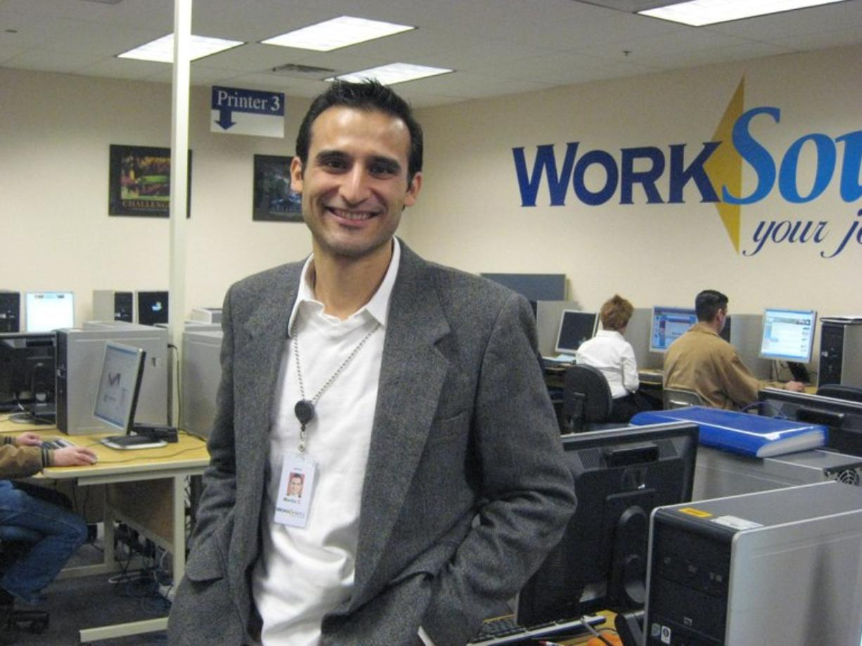 Manlio Castillo is a Science Technology Engineering and Math coach, WorkSource Vancouver.