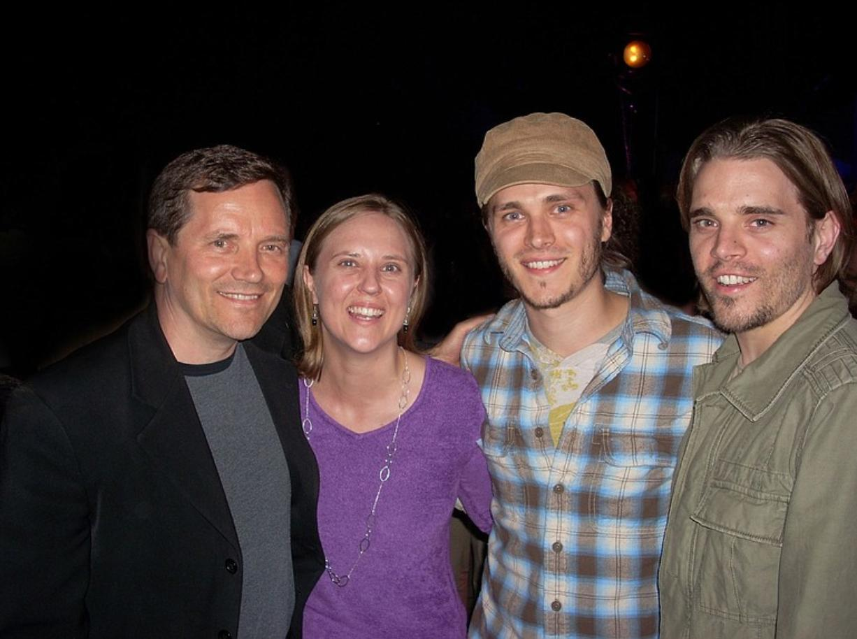 "Rick, from left, Candice, Jonathan and Richard Lee Jackson teamed up on the new single ""Freedom, Family and Faith."""