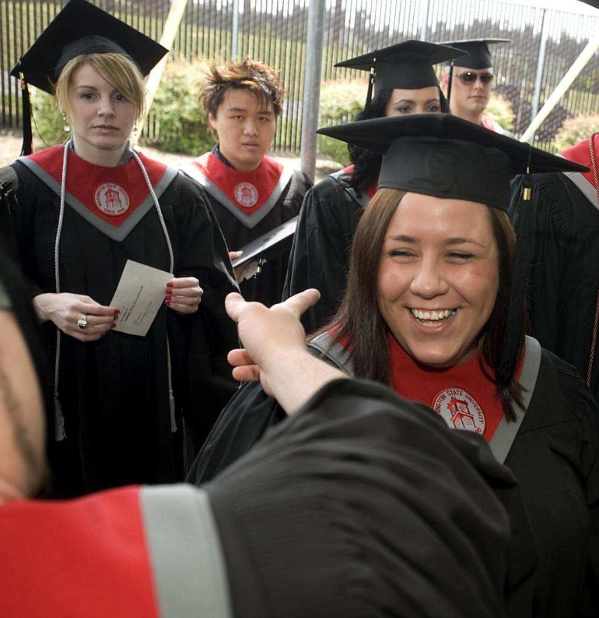 WSUV's first four-year class receives degrees - Columbian com