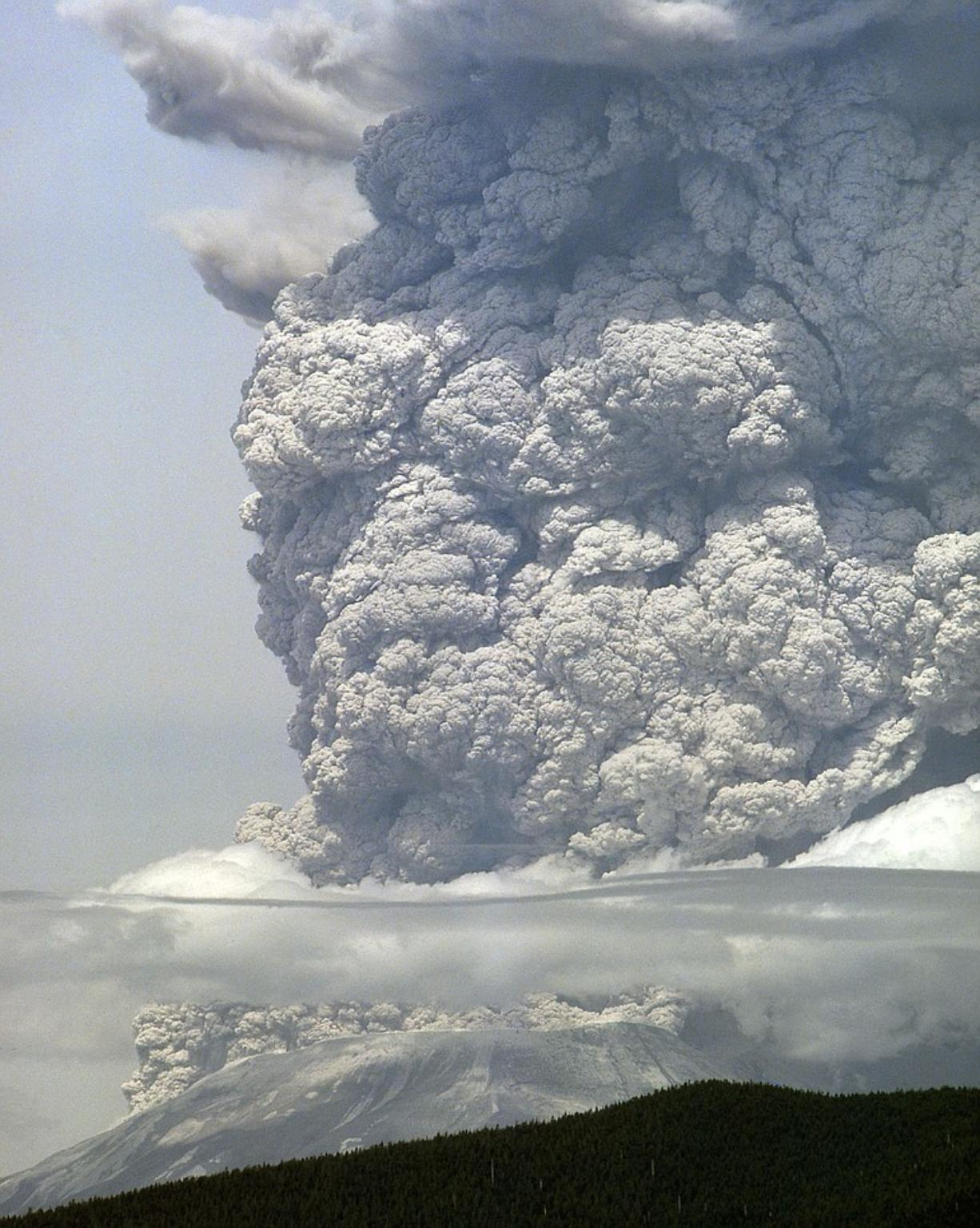 The eruption of Mount St.
