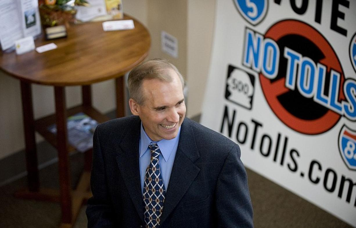 Technology entrepreneur David Madore, a self-made millionaire, has emerged in the past few months to fund both his NoTolls.com political action committee and 10 candidates who are against tolling and light rail on the Columbia River Crossing.