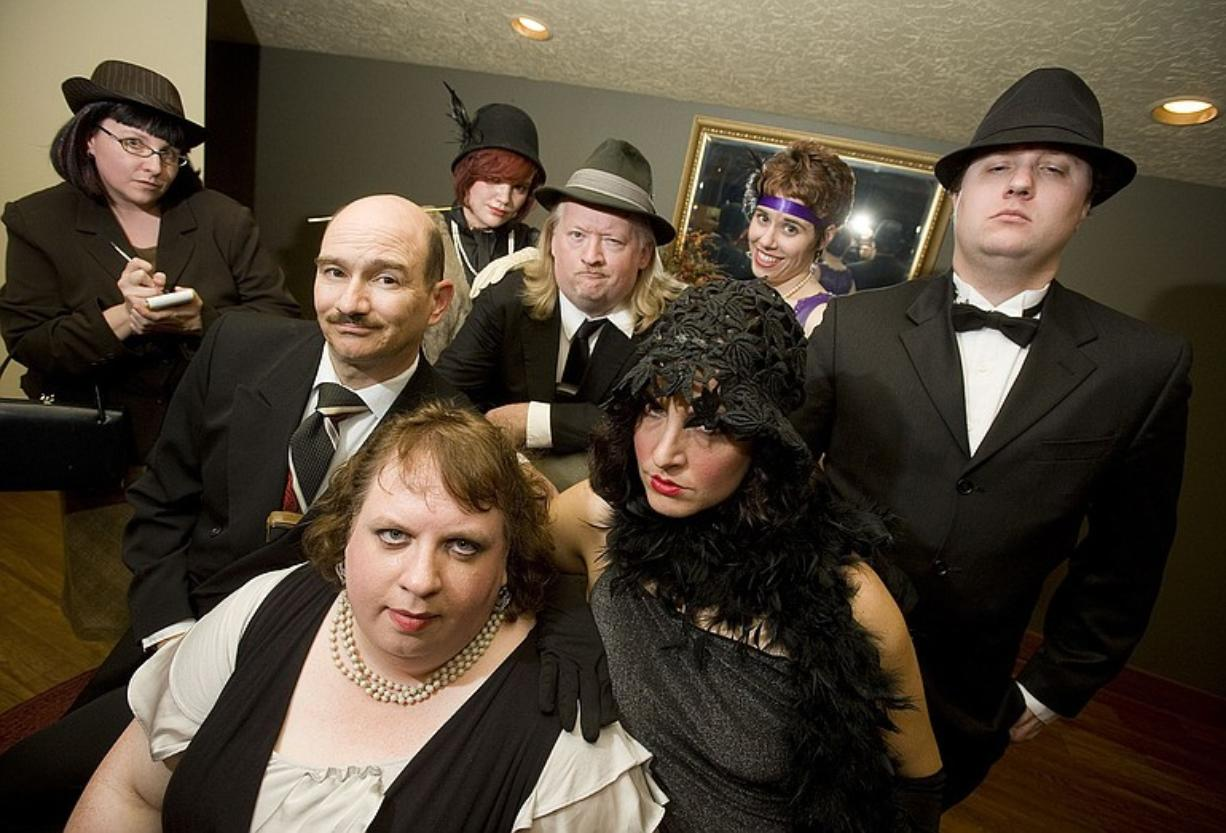 """Mama Versus the Mob,"" an interactive murder mystery dinner show, features eight actors from the greater Vancouver-Portland area."