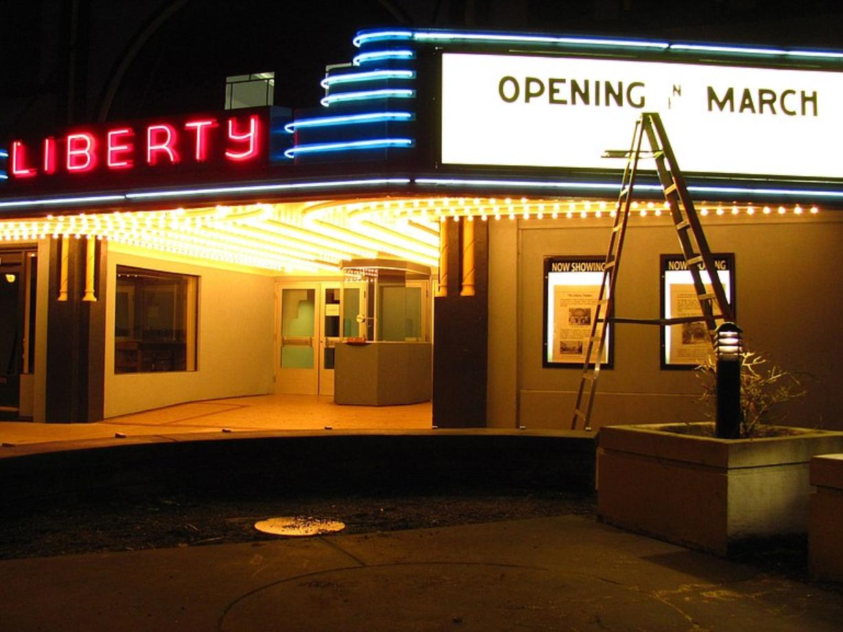 The Liberty Theatre will celebrate its grand opening March 16-19.