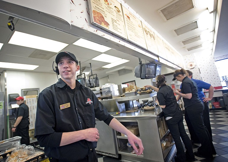 Burgerville Hires Teenager Laid Off By Jack In The Box The Columbian