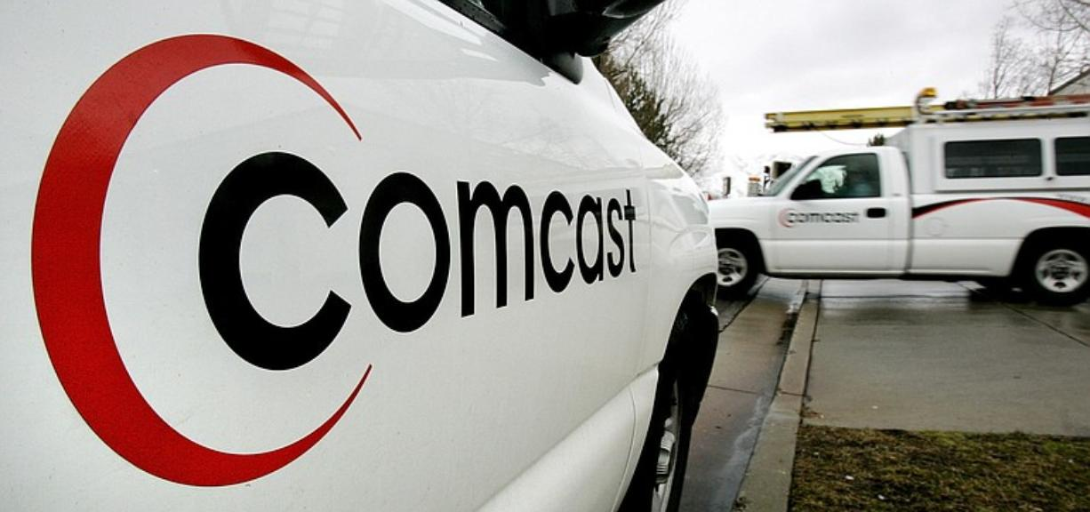 A technician for Comcast heads out on a job in Salt Lake City.