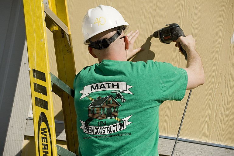 use of maths in construction of house