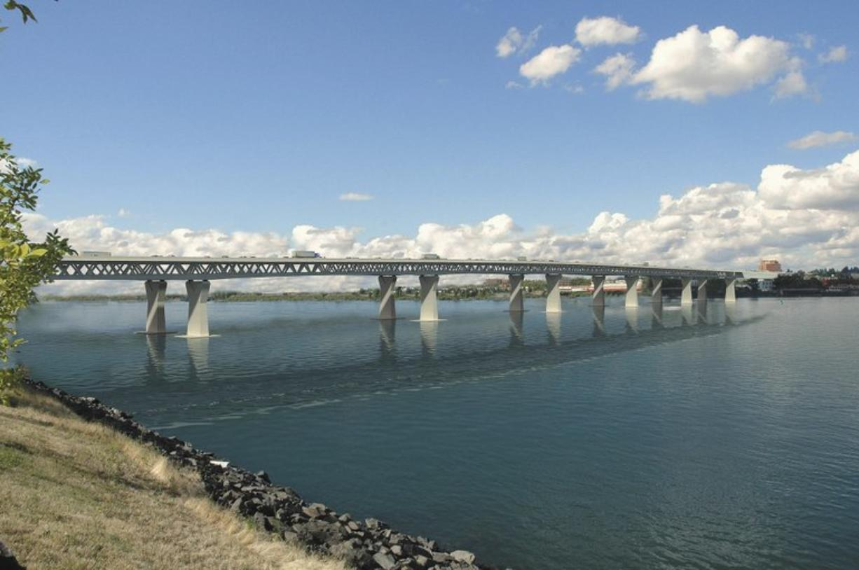 Charging cars and trucks to use a new Interstate 5 bridge was expected to provide about one-third of total project costs, or about $1.3 billion.