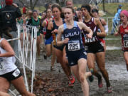 Taylor Guenther (285), Western Washington University cross country.