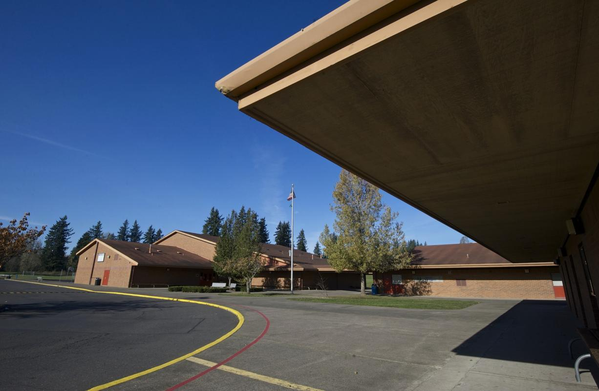 Jemtegaard Middle School in Washougal is the focal point of the district's bond measure.