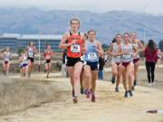 University of the Pacific's Lindsay Wourms (46) set a school record at the West Coast Conference meet.