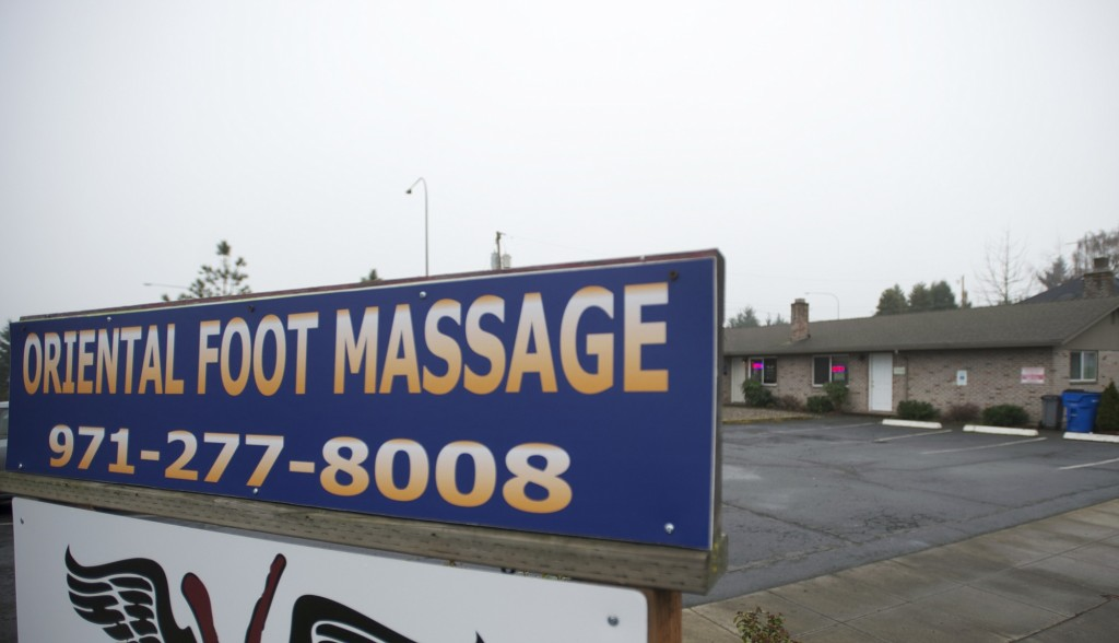 Asian massage parlor oregon opinion