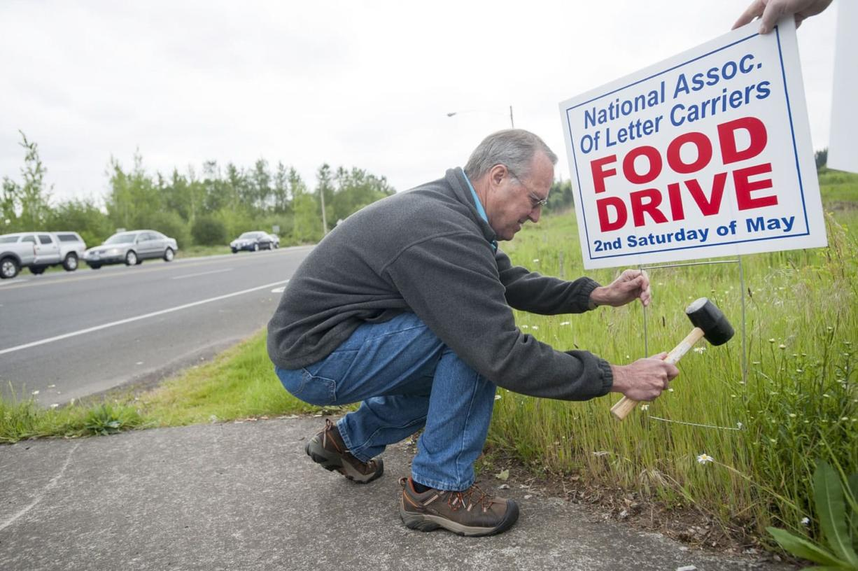Former mail carrier Don Young is still retired -- but he's returned as a volunteer to coordinate this Saturday's food drive by the National Association of Letter Carriers.