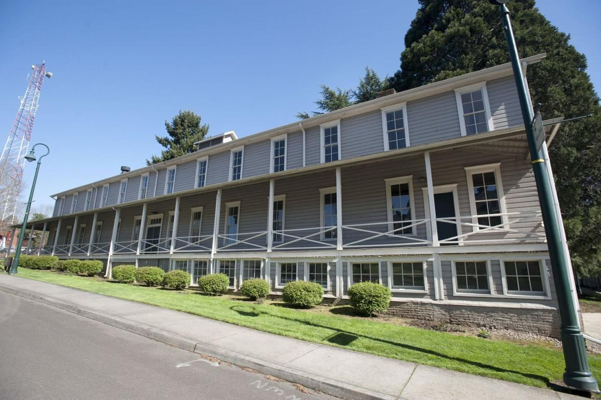 "The long-vacant Infantry Barracks at Fort Vancouver will be renovated into studio and one-bedroom apartments over the next year as part of an $8.3 million ""adaptive reuse"" project involving four buildings."