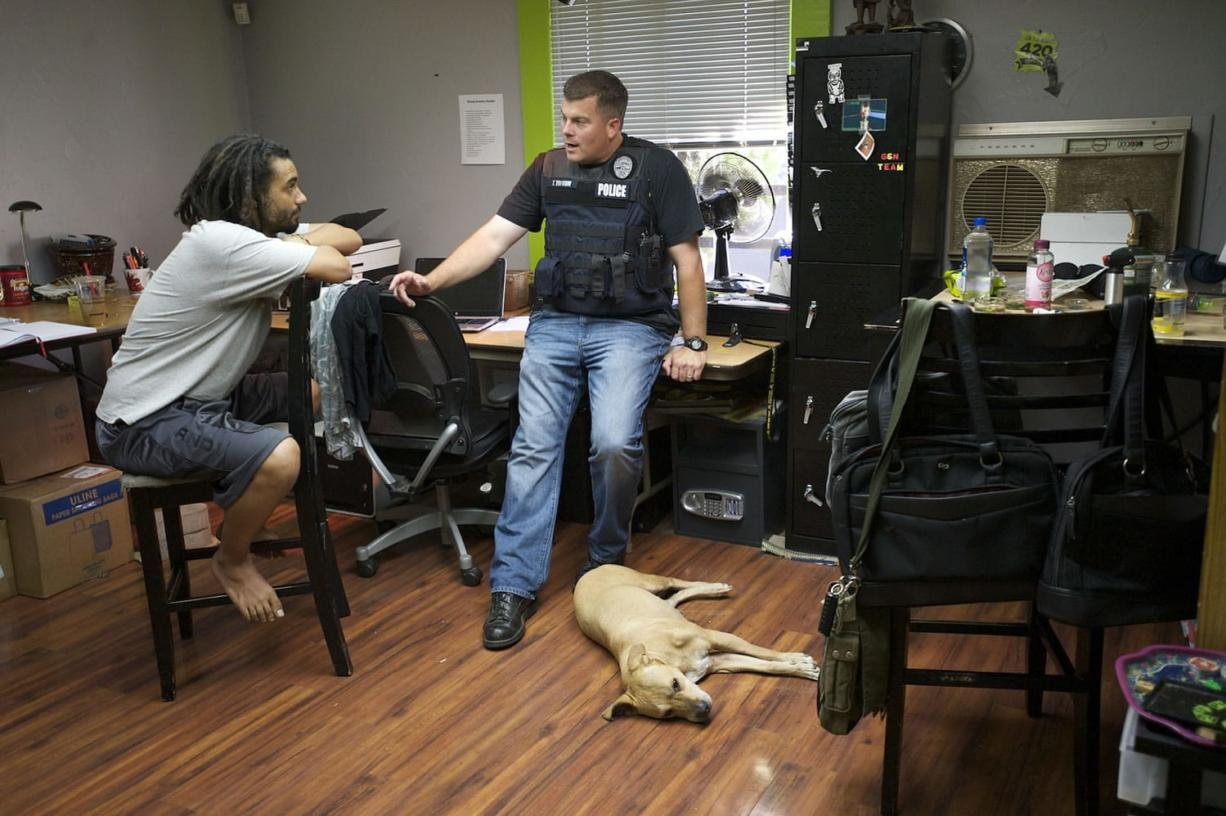 Owner arrested in raid of Vancouver pot business - Columbian com