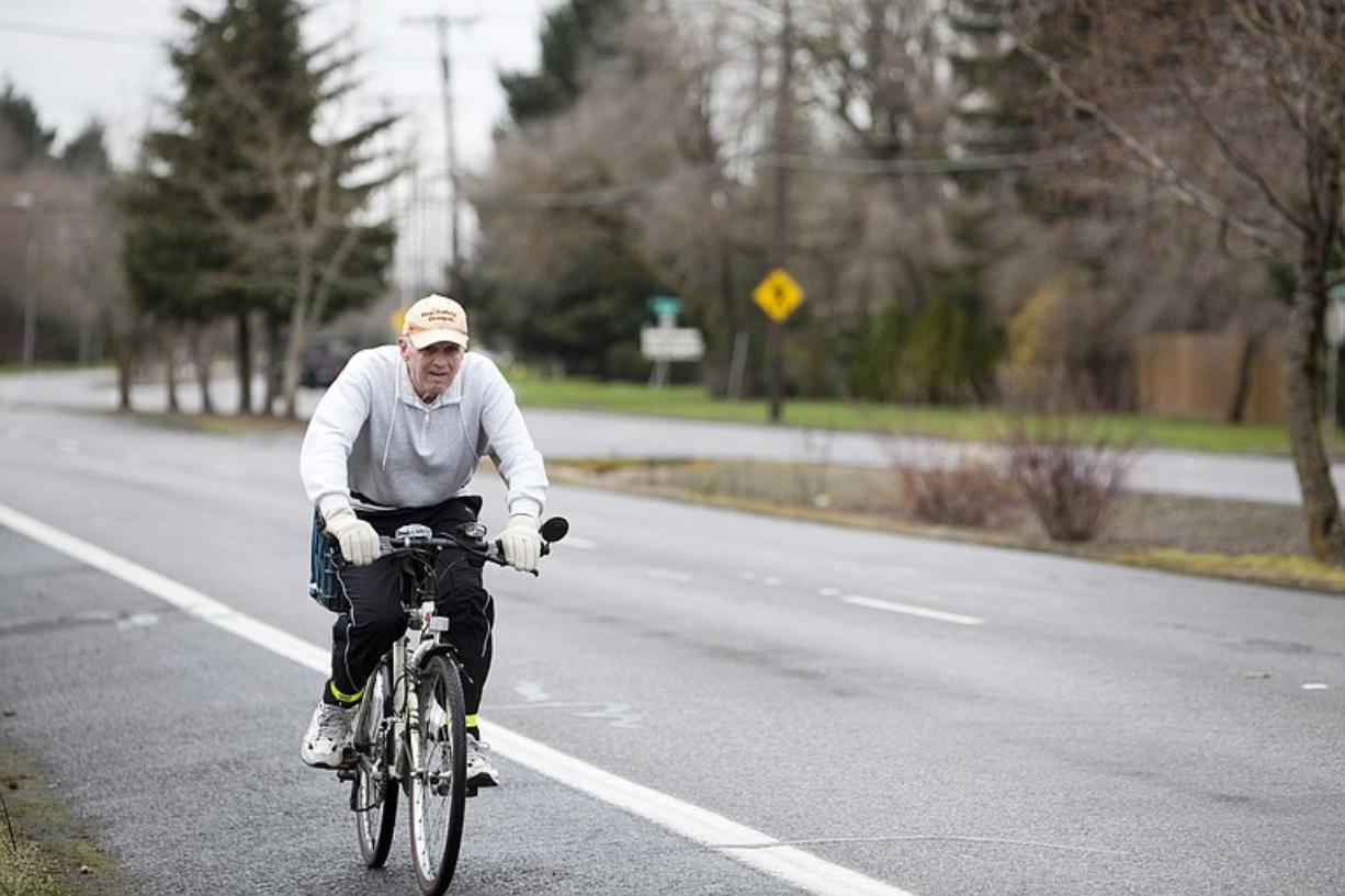The City of Vancouver and bike activists are at odds with how to deal with narrowing MacArthur Blvd.