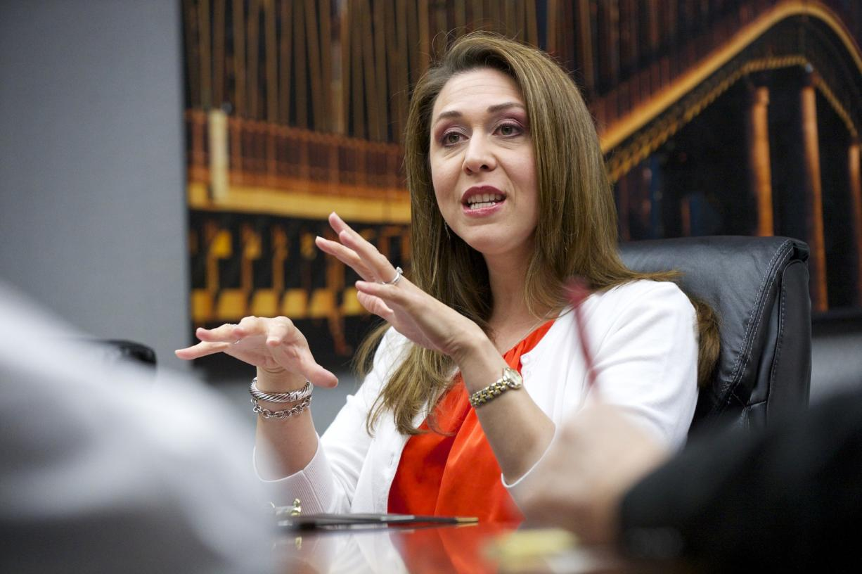 In a wide-ranging interview U.S. Rep. Jaime Herrera Beutler, R-Camas, spoke to The Columbian's editorial board on Tuesday. On the proposed Vancouver oil terminal, Herrera Beutler said she would be in favor of it being built if all the safety issues were addressed.