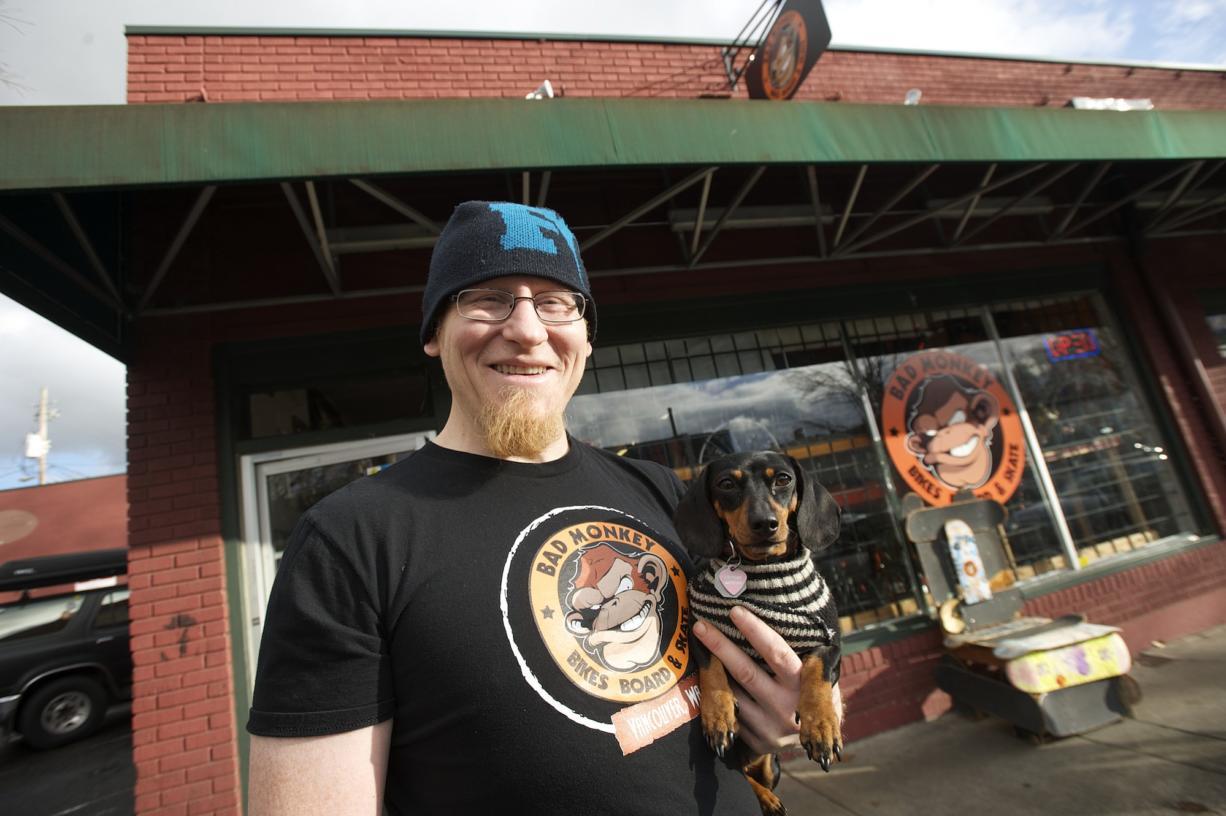 Wade Leckie is the owner of Bad Monkey Bikes in Uptown Village.