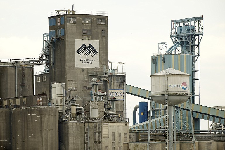Great Western Malting Co. is a tenant at the Port of Vancouver.