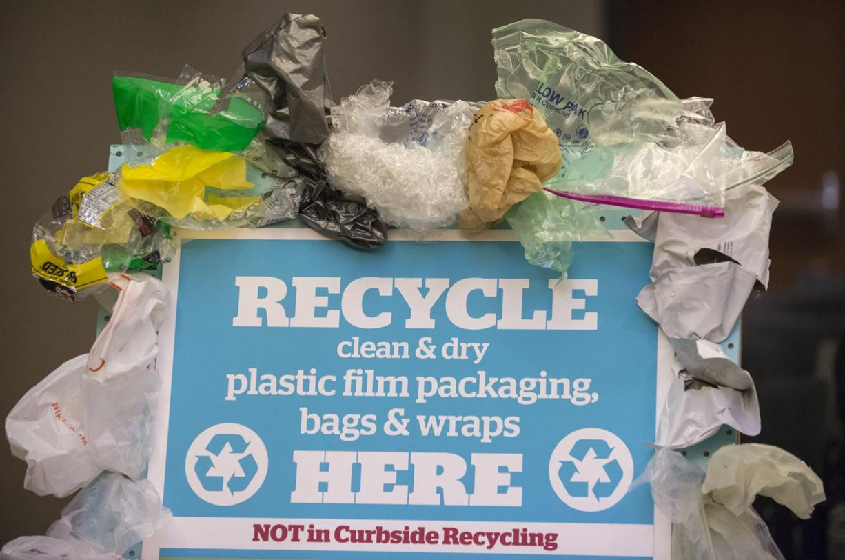 Starting Saturday, Safeway Stores throughout Clark County will accept polyethylene plastic bags and wraps for recycling. The plastic will be recycled into Trex composite lumber.
