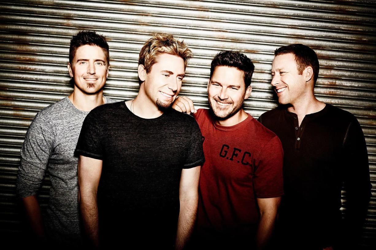 Nickelback will perform June 19, 2015 at Amphitheater Northwest in Ridgefield.