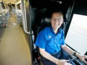 C-Tran bus driver Todd Shade, seen Nov.