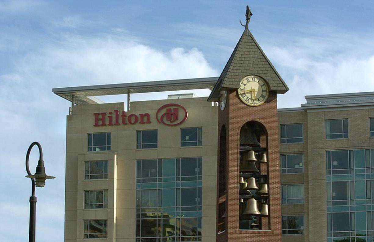 The Vancouver Downtown Redevelopment Authority in 2003 took out $68 million in bonds for the Hilton Hotel and Convention Center, with the city backing the loans. Hilton Hotels Corp. is paid a flat fee to manage the site.